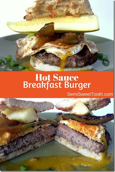 Hot Sauce Breakfast Burger