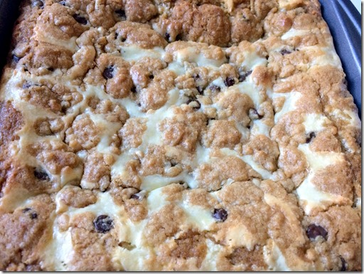 Chocolate Chip Cookie Cheesecake Bars _1