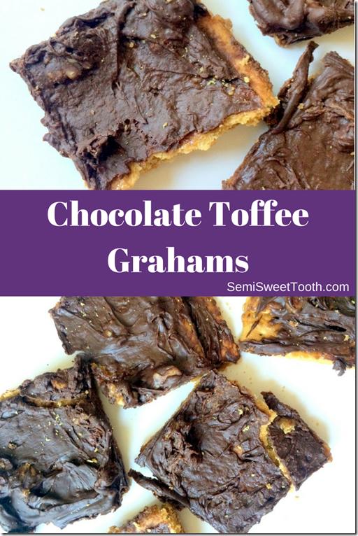 Chocolate Toffee Grahams
