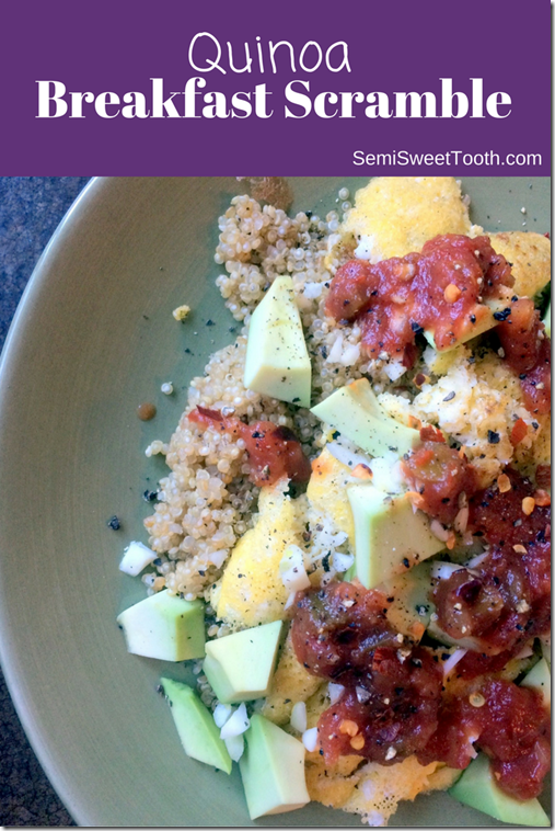 Quinoa Breakfast Scramble